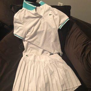Lactose shirt and skirt set